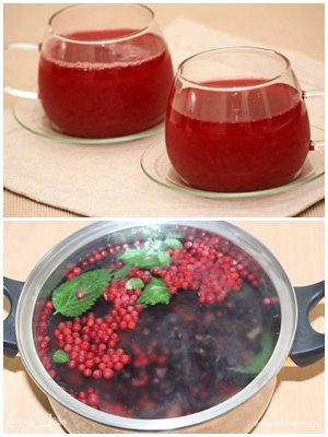 квасной напиток из смородины