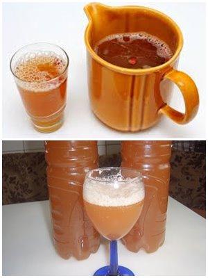 кофейный квас из натуральных кофе и сока