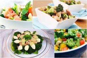 Салаты из брокколи: 14 рецептов, советы, варианты оформления