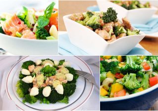 салаты из брокколи