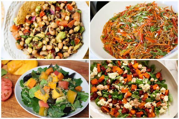 Овощные салаты с тыквой