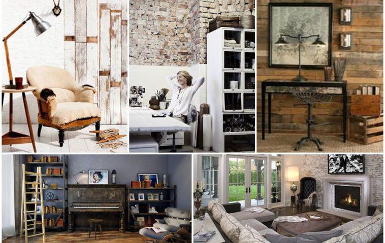 Стиль гранж в интерьере квартиры: от теории к практике