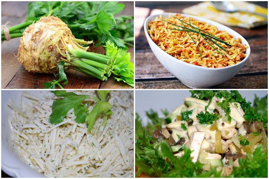 You are currently viewing Полезные салаты из корня сельдерея: 9 рецептов