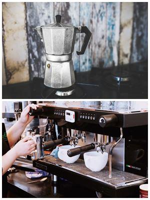 чем кофемашина отличается от кофеварки