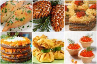 Холодные закуски на Новый год – 2021: 12 простых рецептов