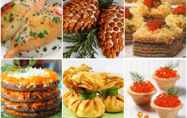 холодные закуски на Новый год