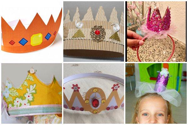 из чего изготовить корону