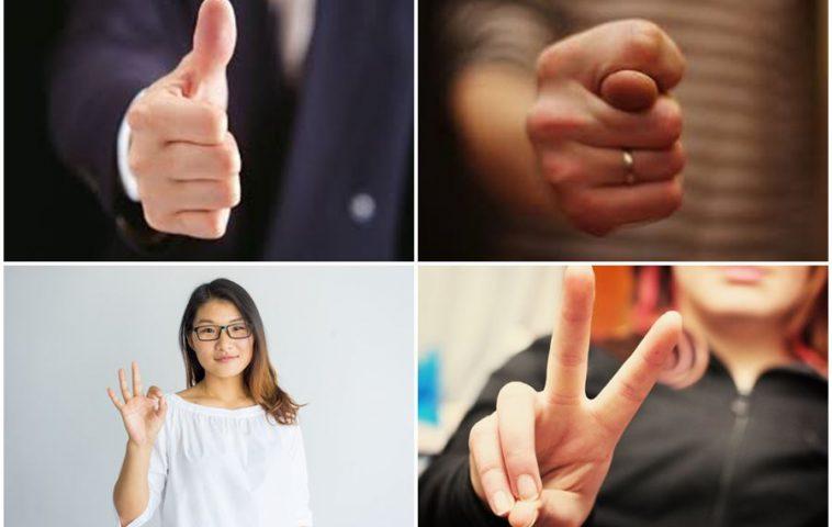 язык жестов в разных странах