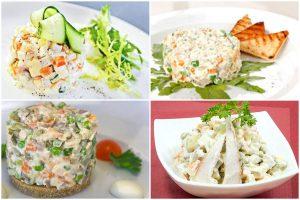 Салат «Столичный»: классический рецепт с курицей и другие варианты