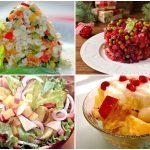Вегетарианские салаты на Новый год: 7 праздничных рецептов