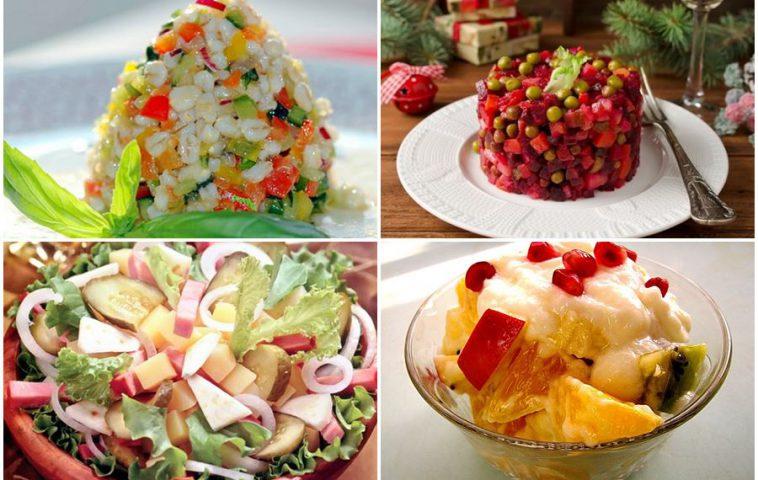 Вегетарианские салаты на Новый год - 2020: 7 праздничных рецептов