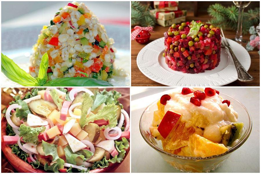 Вегетарианские салаты на Новый год – 2021: 7 праздничных рецептов
