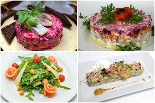 Постные салаты к Новому году – 2021: 9 праздничных рецептов