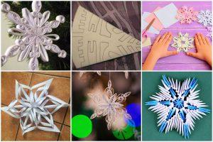 Read more about the article Как сделать красивую снежинку из бумаги: техники, инструкции, шаблоны