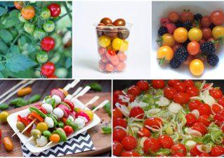помидоры черри - выращивание в открытом грунте