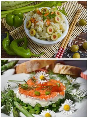 рецепты постных салатов к празднику