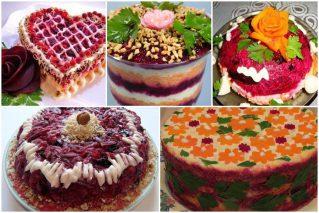 Read more about the article Слоеный салат «Любовница»: классический рецепт и еще 11 вариантов