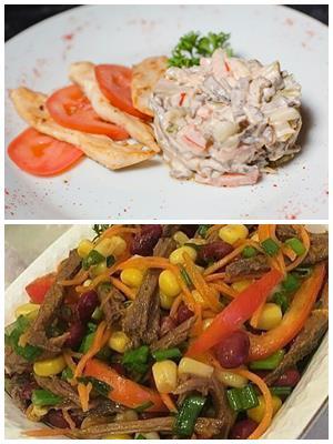 как правильно готовить салат