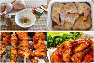Маринад для шашлыка из куриных окорочков: 11 рецептов, советы