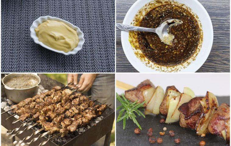 горчичный маринад для шашлыка