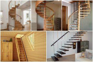 Какую лестницу на второй этаж лучше сделать в загородном доме