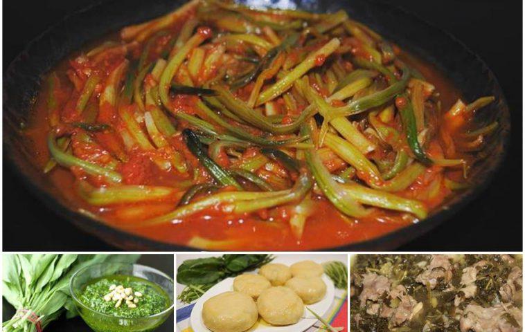 как готовить черемшу - рецепты блюд из медвежьего лука