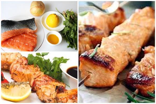 маринад для шашлыка из лосося