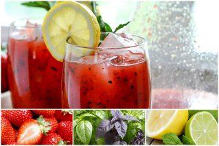 Как сделать лимонад из клубники в домашних условиях: 7 рецептов