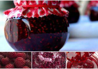 густое варенье из малины на зиму
