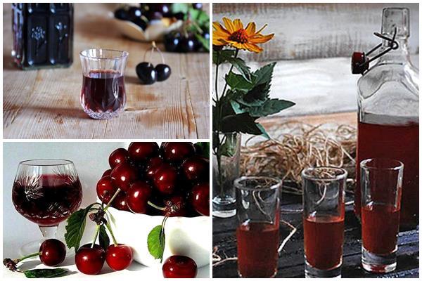вино из черешни с косточками