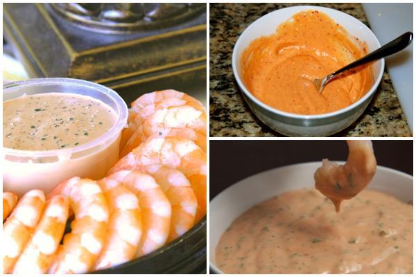розовый соус к морепродуктам