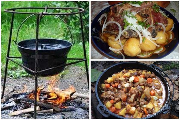 технология приготовления баранины с картошкой в казане