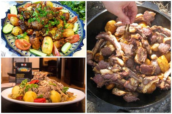 узбекские блюда в казане