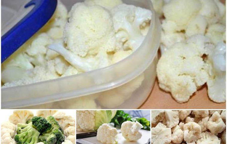 Как заморозить цветную капусту на зиму: 5 рецептов, советы
