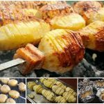 картошка на мангале - рецепты