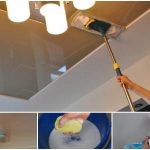 правильный уход за нятяжными потолками