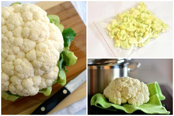 замораживание цветной капусты
