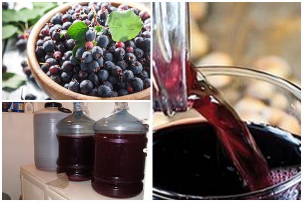 технология приготовления домашнего вина из ирги