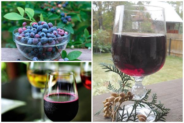 купажированное вино из ирги