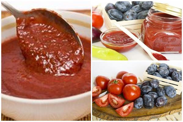 томатно-терновый соус к мясу