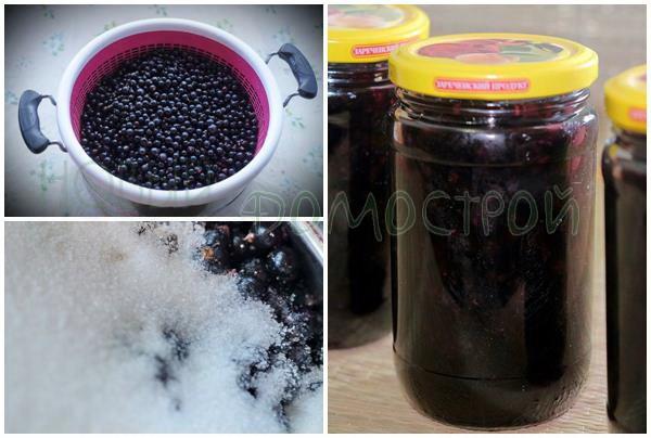 варенье из черной смородины по классическому рецепту