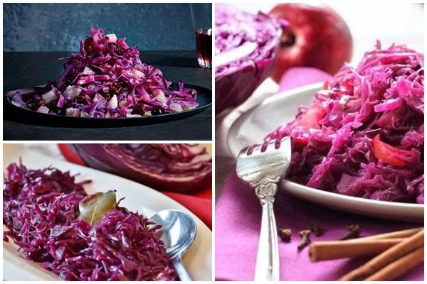 маринованная фиолетовая капуста