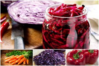 Салат из краснокочанной капусты на зиму: рецепты в банках