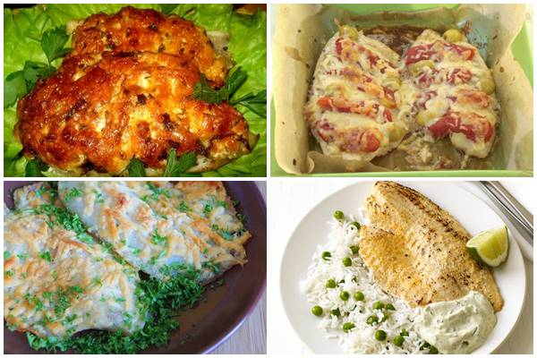 блюда из тилапии