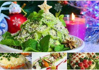 Легкие салаты без майонеза на Новый год - 2020: простые рецепты