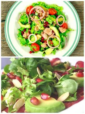 легкий салат с тунцом