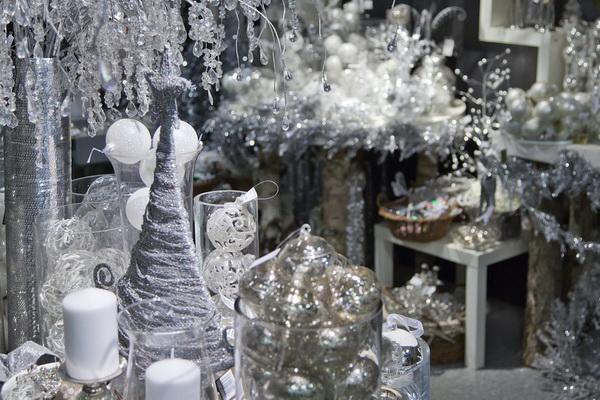 новогоднее серебро