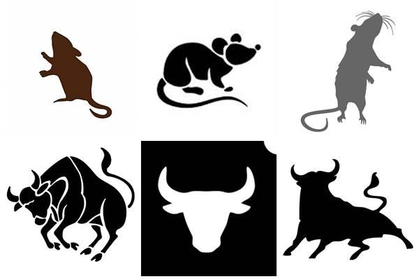 крыса и бык