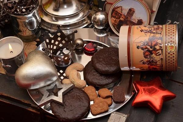 рождественские пряники и печенье