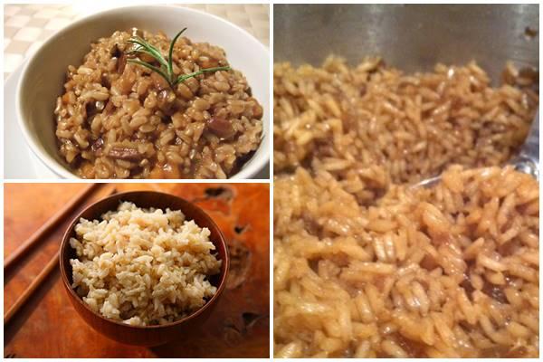 как варить бурый рис